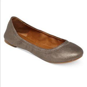 Lucky Brand Emmie Bronzed Gold Ballet Flat